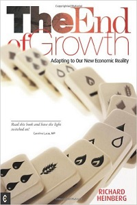 The End of Growth: Adapting to our new economic reality by Richard Heinberg